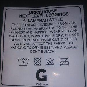 GRRRL Pants & Jumpsuits - GRRRL BrickHouse Next Level Leggings